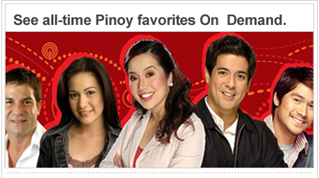 See all-time Pinoy favorites On Demand
